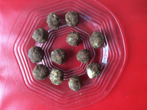 Chocolate-Nut Balls