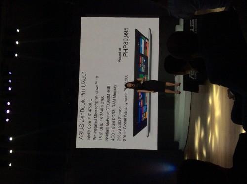 ASUS ZenBook Pro501