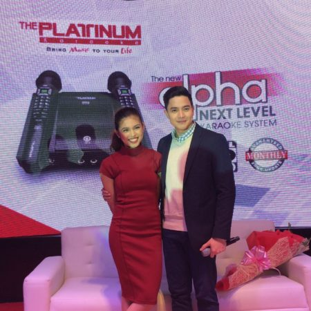Platinum Alpha Mic Karaoke Alden Richards and Maine Mendoza
